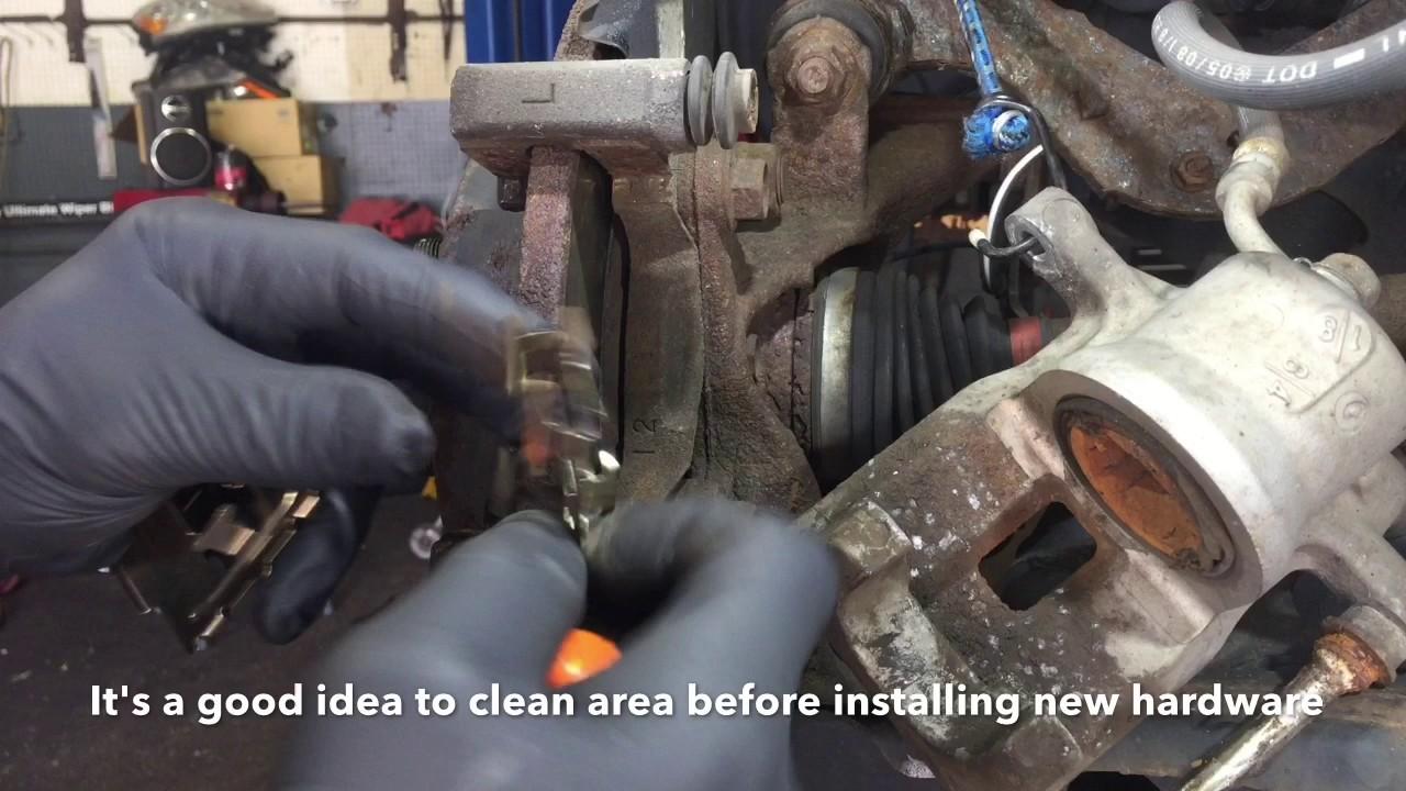 How To Replace Toyota Rav4 Rear Brake Pads