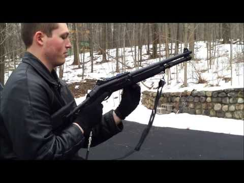 Airsoft Shell-Ejecting Gas M1014 / Benelli M4 Live Fire