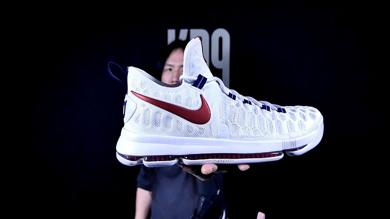 UNBOXING  Nike KD 9