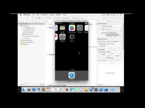 Introduction to use iOS simulator