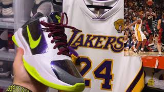 Kobe Bryant 2010 Finals Authentic Mitchell & Ness Jersey
