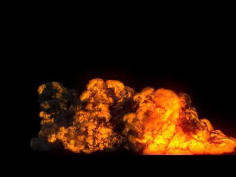 Explosion Test FumeFX v01