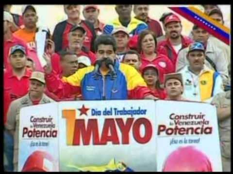 Maduro a John Kerry