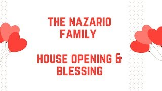 The Nazario Family Home Story