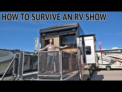 RV Show Guide: Have a Game Plan