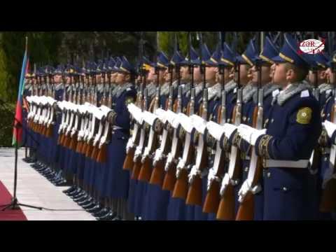 Official welcome ceremony was held for Kazakh President Nursultan Nazarbayev