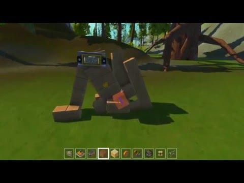 Чем заменить поршень в игре Scrap Mechanic (подъемный механизм) Piston and lifting mechanism