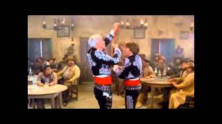 THREE AMIGOS Bar Scene 'My Little Buttercup' Steve Martin Chevy Chase Martin Short