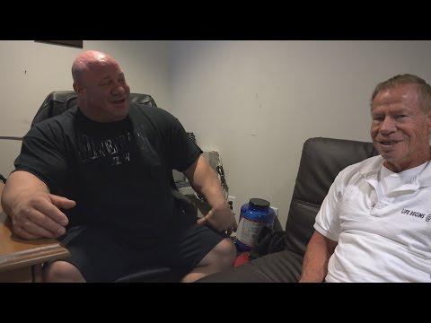 81 Year Old Bodybuilder Jim Arrington Interview - Scot Mendelson