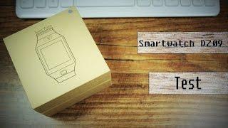 20€ China Smartwatch DZ09 - Unboxing - Deutsch