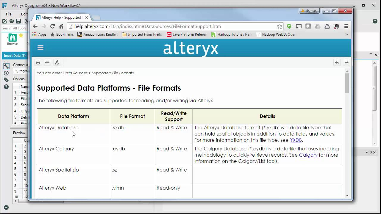 Connecting to a File from Alteryx Designer