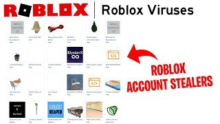 The Roblox Library is filled with viruses that may infect your PC or hack your Roblox Account
