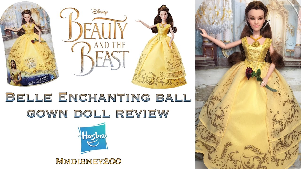 Beauty and the Beast live Action: Belle Enchanting Ball Gown doll by ...