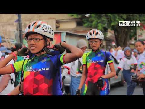 Pawai Obor Asian Games 2018 Di MALANG