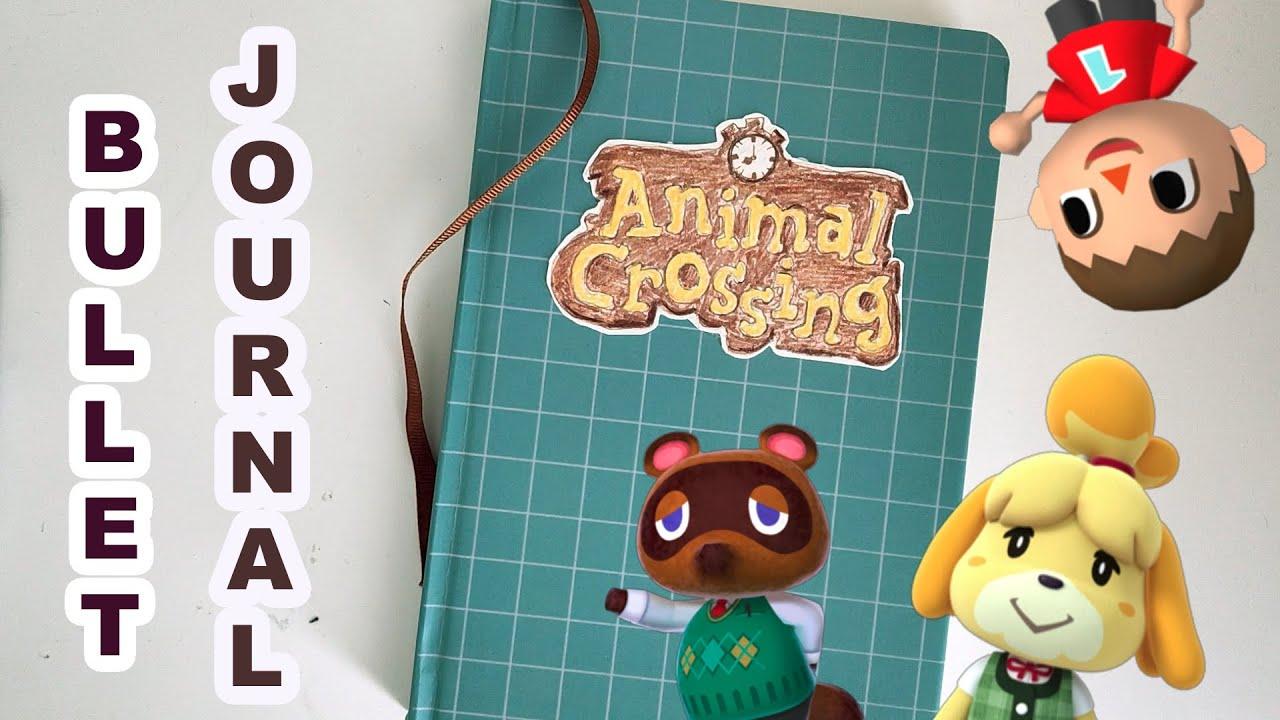 ✍️ [Bujo] Animal Crossing Bullet Journal Setup for #ACNH