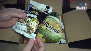 Посылка с личинками и прочими вкусностями из Таиланда. Спасибо Максим :-)
