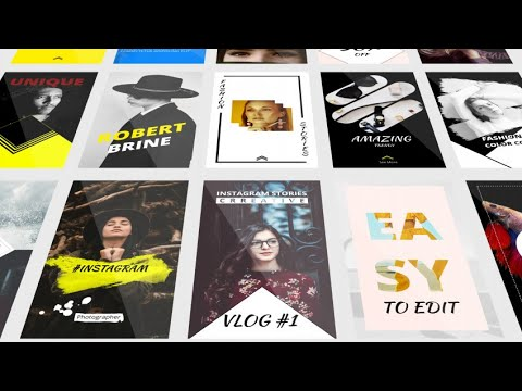 Instagram Stories After Effects Templates - Motion Array - Video