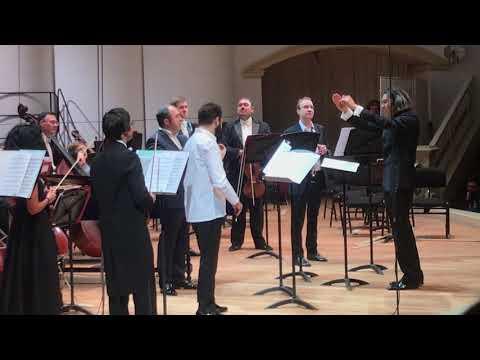 Bach: Brandenburg Concerto № 2. Violin Guadagnini: Ilya Gringolts. Conductor: Vladimir Yurovsky