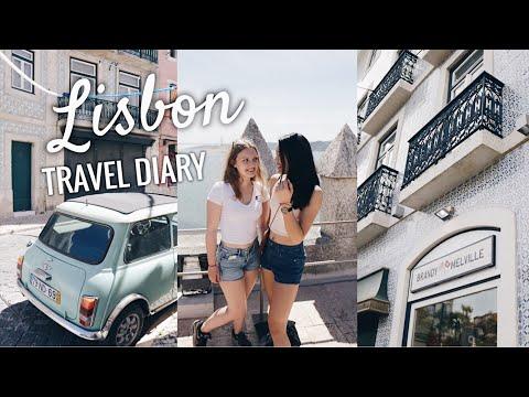 LISBON PORTUGAL TRAVEL DIARY CITY TRIP VLOG 2017