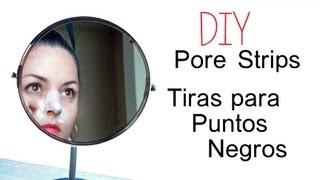 DIY Tiras para Puntos Negros ♥ DIY Pore Strips Thumbnail