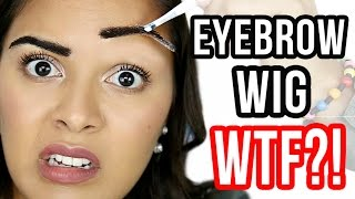 CRINGY PRODUCT: Eyebrow Wig Stick On! NataliesOutlet