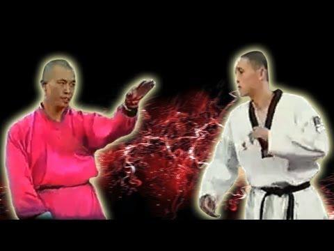 Shaolin Monk vs Taekwondo Master - HQ ORIGINAL QUALITY
