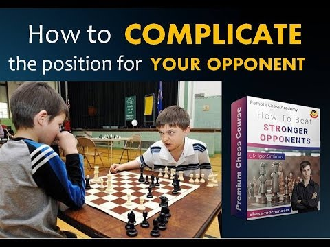 "Free lesson from the course ""How to Beat Stronger Opponents""!"