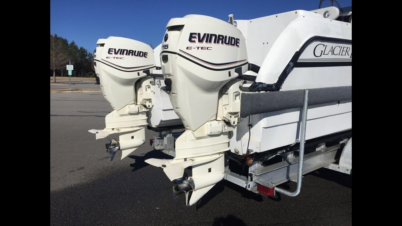 Twin Evinrude etec 115HP for sale