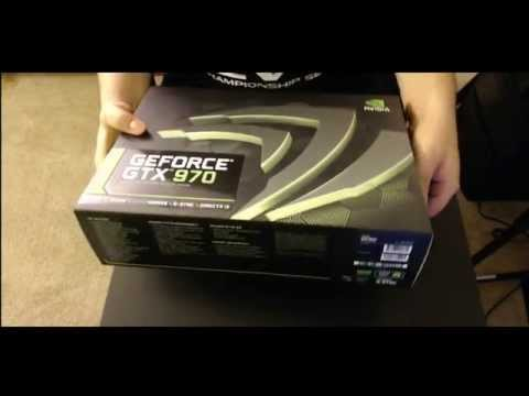 Nvidia GeForce GTX 970 (Reference Design) Unboxing And Installation