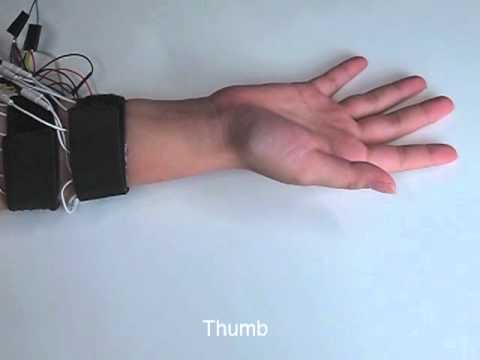 PossessedHand: Techniques for controlling human hands using electrical muscles stimuli