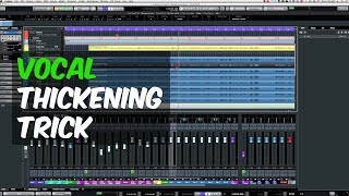 Vocal Thickening Trick in Cubase with Chris Selim - Warren Huart: Produce Like A Pro