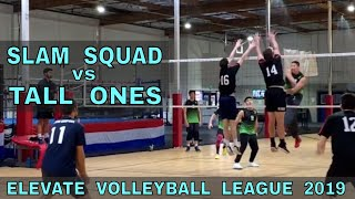Slam Squad vs Tall Ones | EVL 3 - Playoffs 2 (Elevate Volleyball League 2019)
