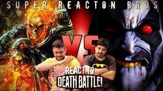 SRB Reacts to Ghost Rider VS Lobo (Marvel VS DC) | DEATH BATTLE!
