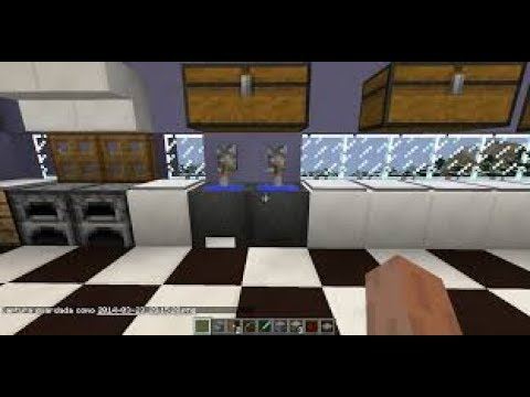 Como Hacer Cocina En Minecraft Youtube