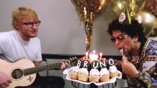 Baixar Bruno Mars HIRES Ed Sheeran to Sing Him 'Happy Birthday'