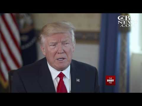 The Brody File: February 2, 2017 - One-On-One With President Donald Trump