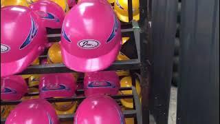 SS 0269자외선차단 오토바이 전동 킥보드 헬멧 반모…