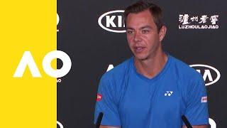 Sascha Bajin (Coach of Naomi Osaka) press conference (4R) | Australian Open 2019