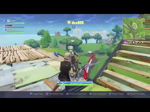 FORTNITE FAST BUILDER DUBS PS4 ROAD TO 500
