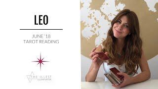 LEO - 'SOMEONE JUST WENT M.I.A.' - JUNE Tarot Reading (Short-cut)