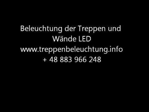 lichtlinie vorbereitung und durchf hrung der beleuchtung treppen und w nde mit led youtube. Black Bedroom Furniture Sets. Home Design Ideas