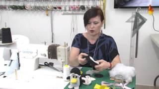 איך תופרים בובת פינגווין/ How to sew a penguin doll