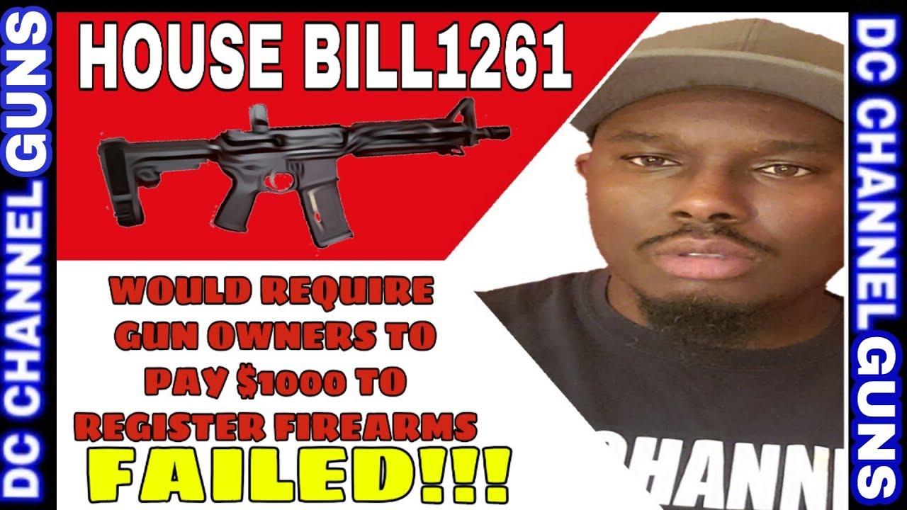 Maryland House Judiciary Committee Withdraws Gun Ban Legislation H.B.1261 | GUNS