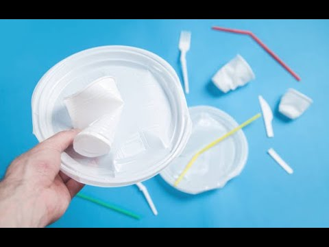 Thermocol Flower || Home decorating flower from Disposable plate | Waste material craft