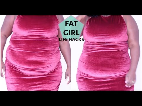 FAT GIRL LIFE HACKS!