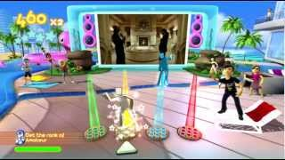 Dance Paradise 720P gameplay Lil Wayne ft. Static (Lollipop) Xbox 360 Kinect