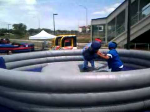 Gladiator Jousting near O'Hare International Airport by Castle Party Rentals Chicago