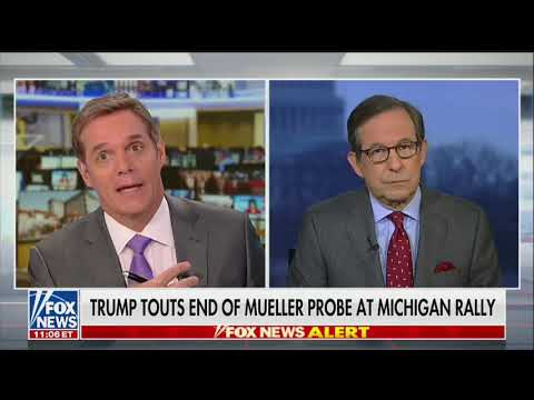 Fox News' Chris Wallace: Mueller's Russia Investigation Did Not Start With Steele Dossier on Trump