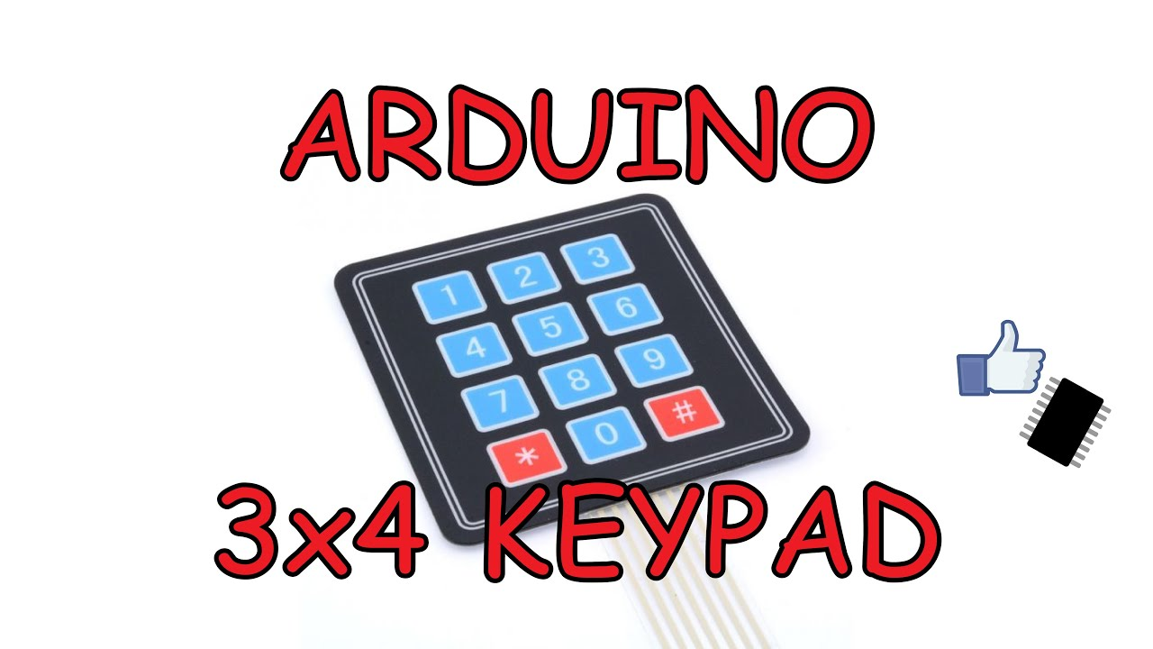 3x4 Arduino keypad | Cheap Electronics #4