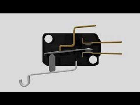 chave micro switch para forno de microondas youtube. Black Bedroom Furniture Sets. Home Design Ideas